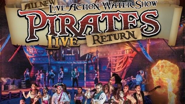 Pirates Return Live